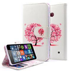Lumia 640 Case, Lumia 640 LTE Case, Nagebee - Design Dual-Use Flip PU Leather Fold Wallet Pouch Case case Premium Leather Wallet Flip Case for Nokia Lumia 640 (Wallet Butterfly Tree) NageBee http://www.amazon.com/dp/B011SHAKVM/ref=cm_sw_r_pi_dp_fclswb1B8V6AC