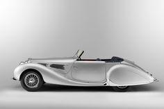 Figoni & Falaschi Delahaye 135MS Cabriolet #60173 1939