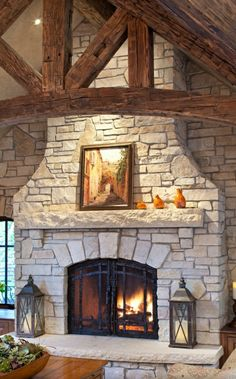 Most up-to-date Pictures metal Fireplace Hearth Suggestions stone fireplace ideas fireplace hearth stone slab wrought iron and glass doors Fireplace Hearth Stone, Fireplace Doors, Rock Fireplaces, Rustic Fireplaces, Farmhouse Fireplace, Home Fireplace, Fireplace Remodel, Fireplace Mantels, Fireplace Ideas