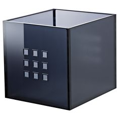 LEKMAN Box - dark gray - IKEA