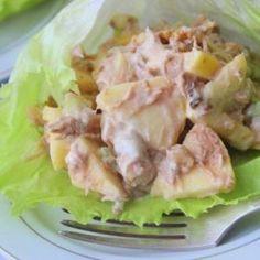 Uoldorfskoy tuna salad