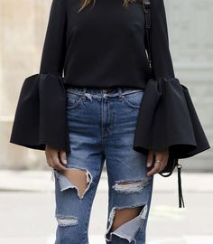 Our Favorite Pieces to Keep Wearing in 2017: Bell Sleeves