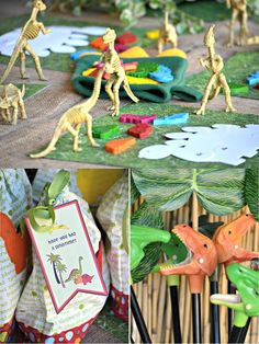 Dinosaur Party Activities and Games    http://pinterest.com/thespottedowl/kid-parties-and-birthday-stuff/