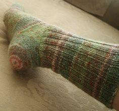 Hat-Heel Sock (Knitty)