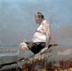 Swimmer with Girth, 2014, by Alex Kanevsky