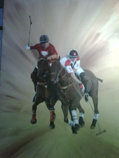Another polo painting