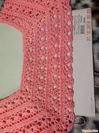 Resultado de imagen para pinterest cuellos tejidos para blusas