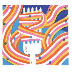 irene rinaldi - Salifornia poster Creative Poster Design, Creative Posters, Irene, Flat Illustration, Illustrations, Italian Artist, Art Challenge, Poster On, Mid Century Design