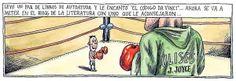 Liniers... en el ring de la literatura