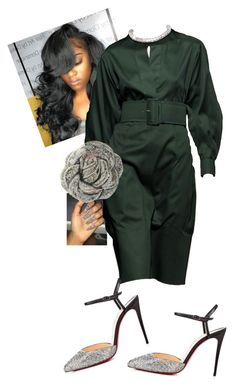 """110th Holy Convocation"" by cogic-fashion on Polyvore featuring CÉLINE, Christian Louboutin and Judith Leiber"