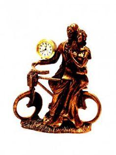 Statuie cu ceas - un cadou elegant pentru femei  http://www.giftplanet.ro/product--statuie-cu-ceas-bicicleta--1716.html