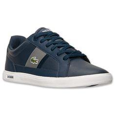 Кроссовки ( кеды ) оригинальные мужские Производство США Lacoste Men's  Europa LCR2 Casual Shoes ( лакосте )