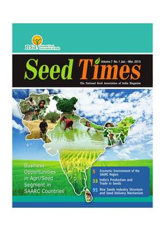 Business Opportunities in Agri/Seed Segment in SAARC Countries: Vol. 7 N