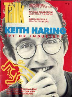 NY Talk Magazine with Keith Haring cover story, June, 1986 New York Graffiti, Graffiti Art, Jm Basquiat, Keith Allen, Kenny Scharf, Keith Haring Art, Street Culture, Pop Culture, Art