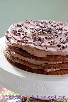 How To Make Banana and chocolate cake Desserts Recipe