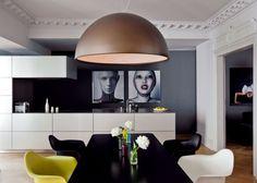 Une salle à manger design et atypique