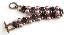Rose Gold & Diamonds Bracelet https://lottiestrinkets.com/gold-plated-bracelets/rose-gold-diamonds-bracelet