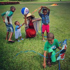 NIGERIA | Abuja | Children playing