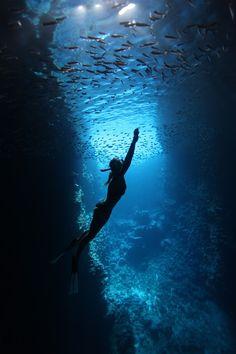 Cave Siren by Scott Portelli - Photo 9932237 / 500px
