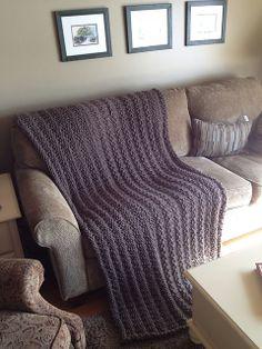 Ravelry: Pottery Barn Inspired Afghan Throw Blanket pattern