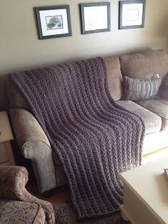 Ravelry: Pottery Barn Inspired Afghan Throw Blanket pattern