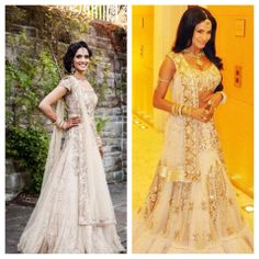 love the all white and gold/silver indian wedding outfits
