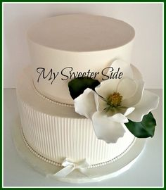 I Do!.....Again! - by Pam @ CakesDecor.com - cake decorating website