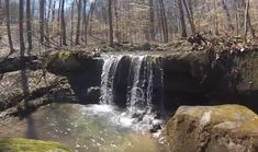 Walk Behind A Waterfall For A One-Of-A-Kind Experience In Indiana