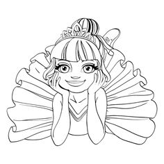 Beautiful ballerina girl in tutu lie on floor outlined isolated on a white background , People Coloring Pages, Coloring Books, Dance Camp, Best Stocks, Accounting Logo, Art Pages, Business Card Design, Business Cards, Vector Art