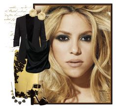 """""""Shakira"""" by habiba11 ❤ liked on Polyvore featuring Martha Medeiros, Alexander McQueen, FOSSIL and Monica Vinader"""