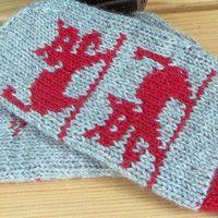 Tuplalapaset / kaksinkertaiset lapaset / kääntölapaset | Punomo Knit Socks, Knitting Socks, Knitted Hats, Mittens, Fashion, Fingerless Mitts, Moda, Fashion Styles, Fingerless Mittens