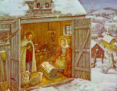 The Tasha Tudor Christmas Book.                                          Cleveland: Collins and Ward, 1966.