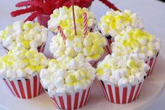 Popcorn cupcakes!!