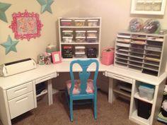 I wish I had this craft space!