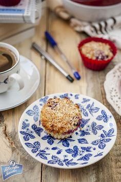 Muffinki owsiane bez mąki