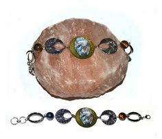 Eagle  metal bracelet handmade nature jewellery unique