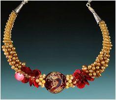 Contemporary Handmade Art Glass Jewelry by Accessoreez - The Beading Gem's Journal