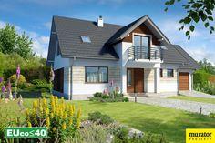 Lipińscy Domy Projekt: Trafny I Energy Projects, Garage Doors, Mansions, House Styles, Outdoor Decor, Home Decor, Projects, Decoration Home, Manor Houses