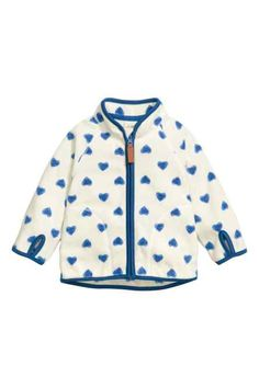 H&M - Patterned fleece jacket £6.99