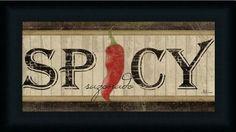 Framed Art Prints, Framed Artwork, Poster Prints, Vintage Signs, Vintage Posters, Peppers Restaurant, Decoupage, Tropical Art, Stuffed Hot Peppers