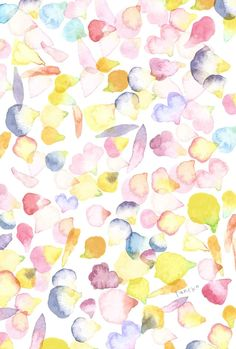 Handbags - I think they were my first fashion love (and if I had design skills, I would love to beco Love Wallpaper, Iphone Wallpaper, Floral Watercolor, Watercolor Paintings, Watercolour, Bag Illustration, Album Design, Flower Images, Cute Wallpapers