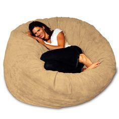 Theater Sack Bean Bag - I want a movie room full of these!