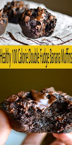 Breakfast Muffins Healthy 100 Calories New Ideas Low Calorie Banana Bread, Low Calorie Muffins, Low Calorie Chocolate, Healthy Banana Muffins, Low Calorie Breakfast, Healthy Breakfast Muffins, Banana Chocolate Chip Muffins, Healthy Chocolate, Chocolate Chips