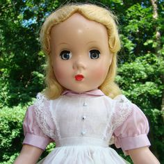 1950s Madame Alexander Maggie Face Doll as Alice in Wonderland 14.5 Inch by AmericanBeautyDolls on Etsy