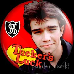 "Retro Kids TV Badge/Magnet - Grange Hill ""Tucker's Luck"" ~ www.powdermonki.co.uk ~"