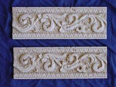 plaster tile border | Roman Border Edging Tile Concrete Plaster Resin Mold 6009 | eBay