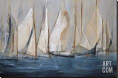 On the Winds Stretched Canvas Print by María Antonia Torres at Art.com