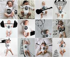 Baby Milestones Poster Newborn Care Baby Milestones Poster N Milestone Pictures, Baby Milestone Cards, Monthly Baby Photos, Baby Posters, Foto Baby, Newborn Baby Photography, Newborn Pictures, Funny Baby Pictures, Baby Art