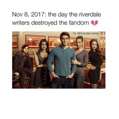 """7,458 Likes, 413 Comments - Riverdale ♔ (@riverdale.series) on Instagram: """"the whole #Riverdale fandom is in a state of panic from tonight's episode oh noo poor Cheryl.…"""""""