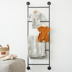 Tell the one of a kind story of your family and home with Magnolia's unique decorative accents and home decor pieces, curated by Joanna Gaines and the team at Magnolia. Blanket On Wall, Diy Blanket Ladder, Hanging Ladder, Ladder Decor, Wall Ladders, Magnolia Table, Black Towels, Hanging Towels, Scandinavian Home